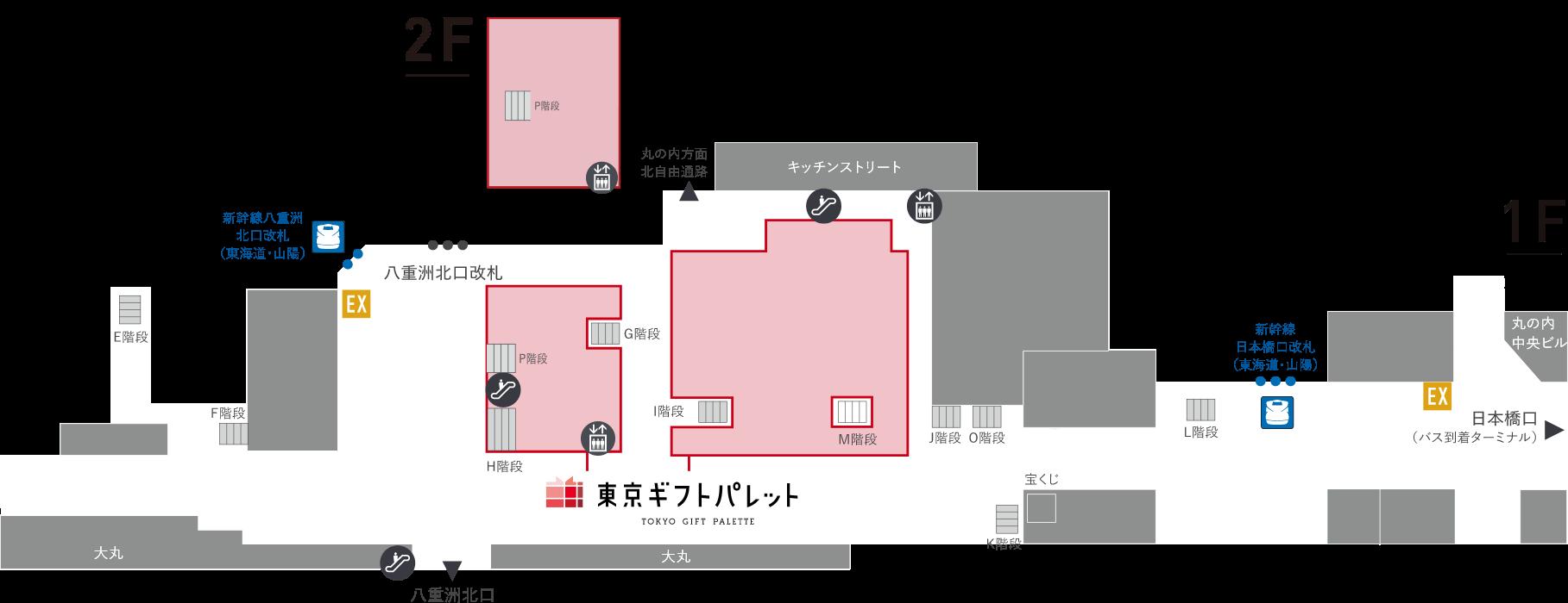 東京ギフトパレット フロアマップ