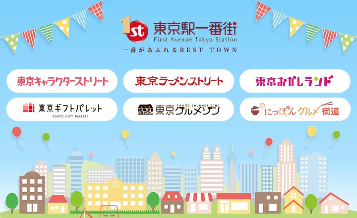 東京駅一番街MVバナー【ギフトパレットOPEN】